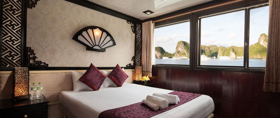 Halong aclass legend cruise - double room