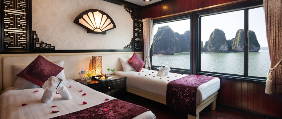 Halong aclass legend cruise - twin room