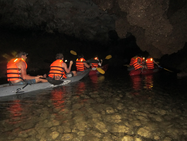 Halong Dark-Bright Cave