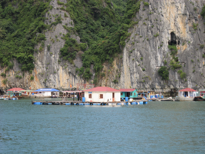 Halong Bahang fishing village